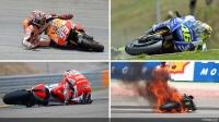 De GP crash top 10