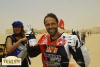 Gerald Delepine revelatie van de Rallye Tunesië 2015.